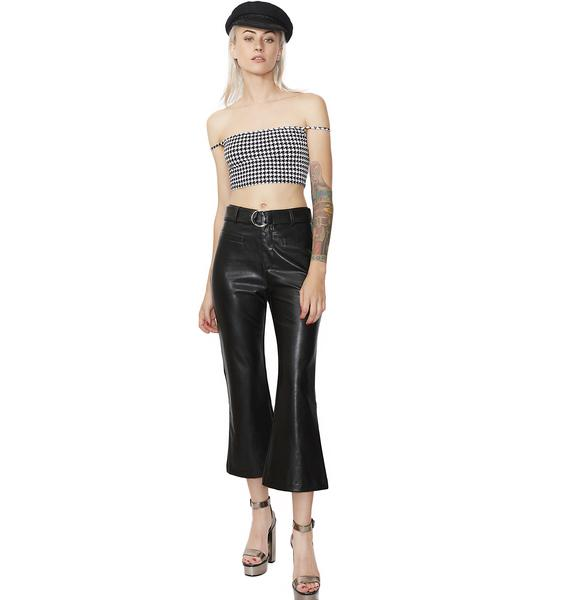 Special Treatment Flared Culottes