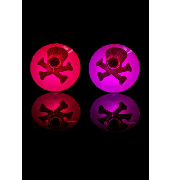 Sasswear Skull LED Pasties