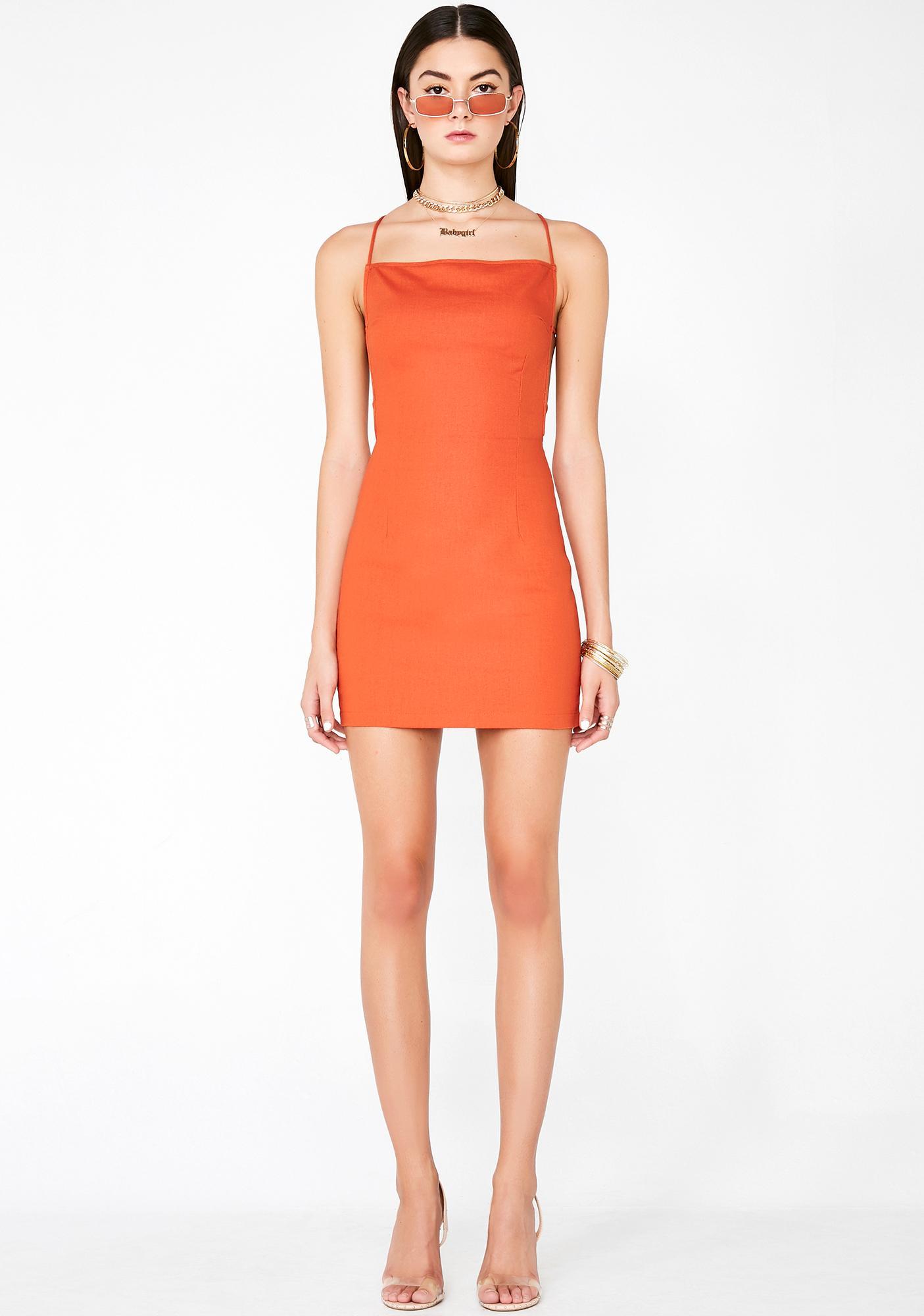 Whatz My Name Mini Dress