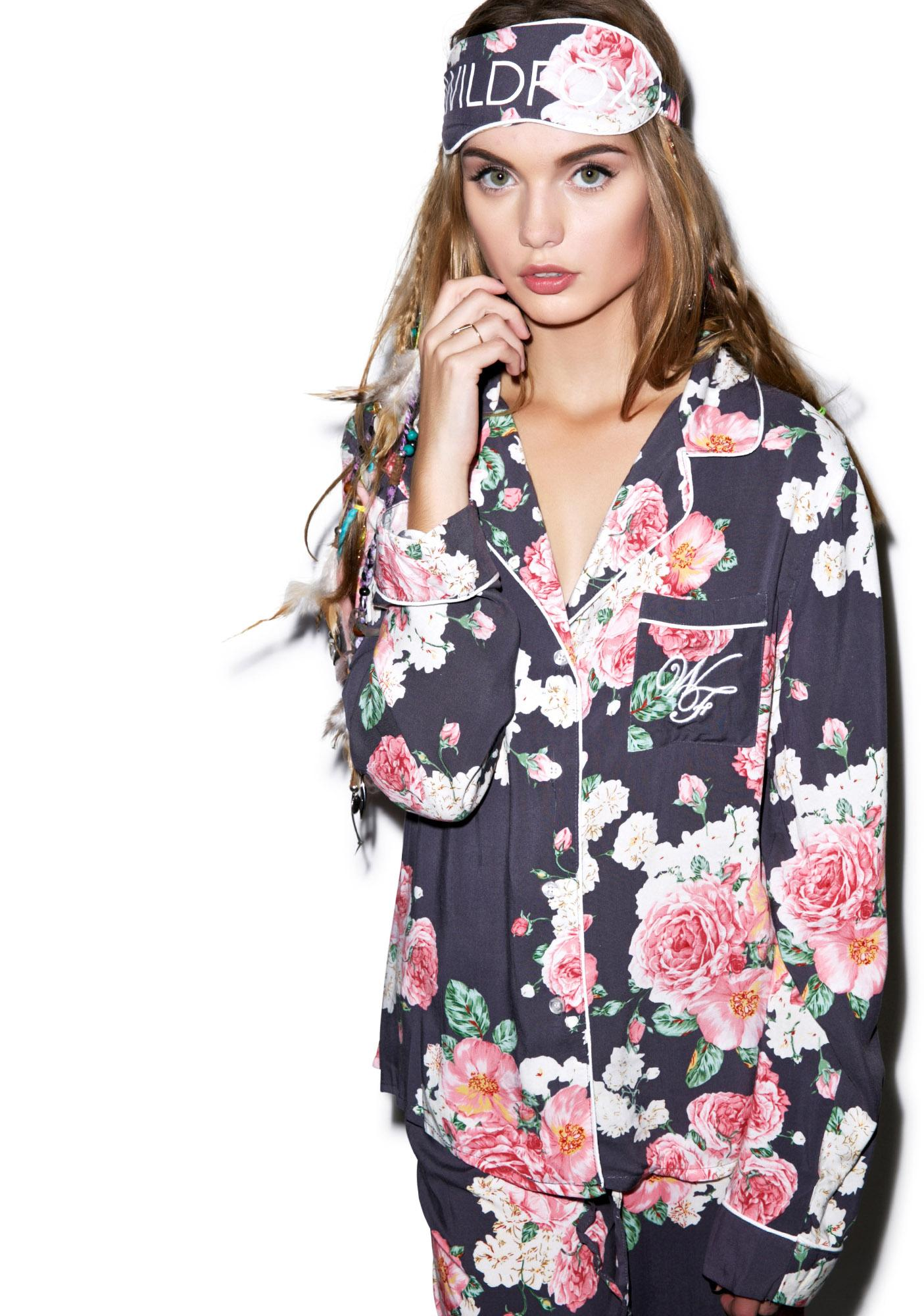 Wildfox Couture Austen Rose Classic PJ Set