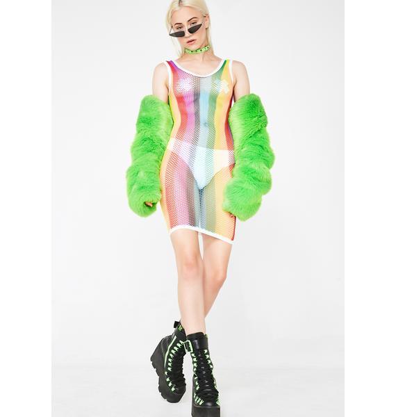 Rainbow Thot Dress