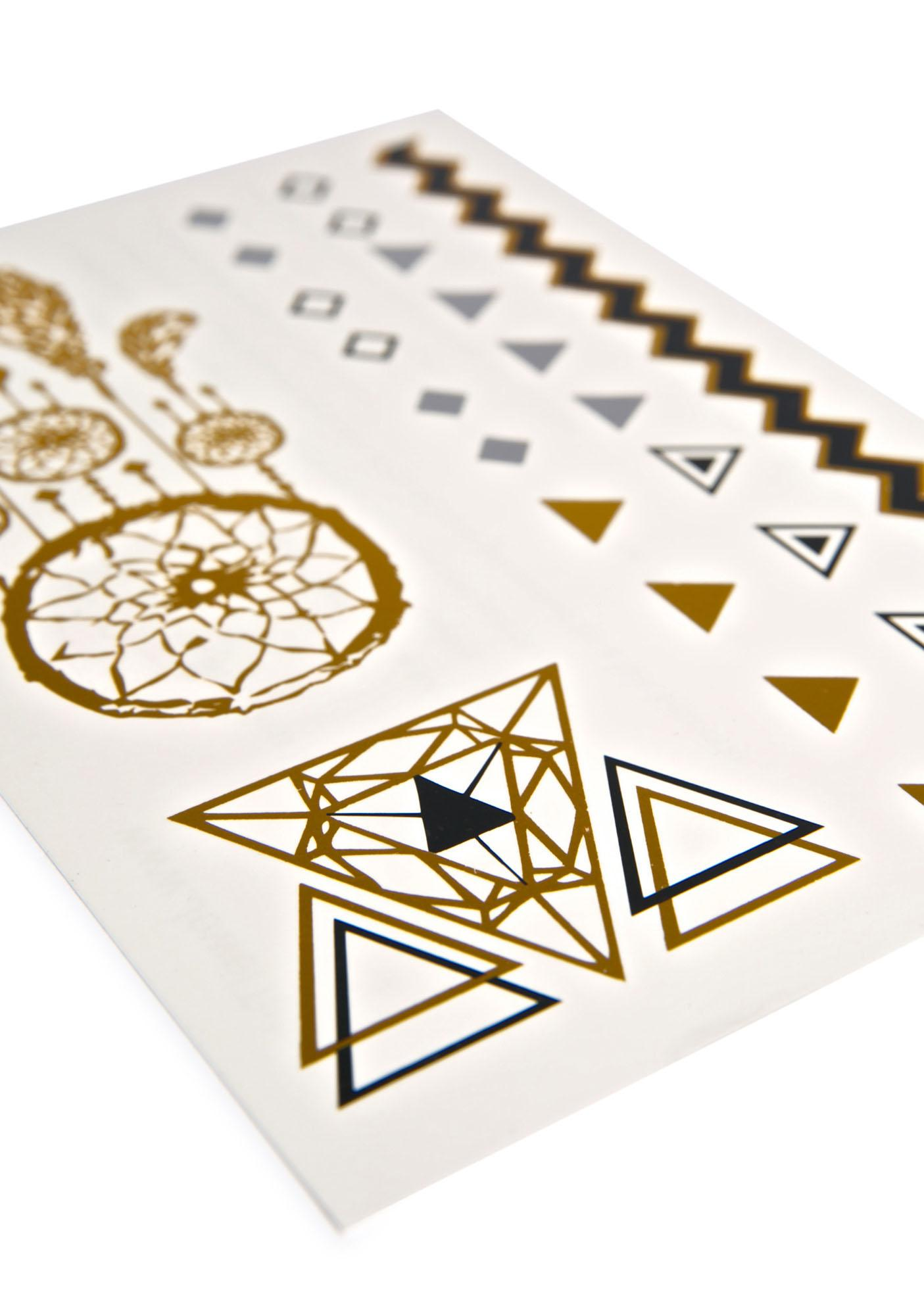 Egyptian Jewel Temp Tattoo