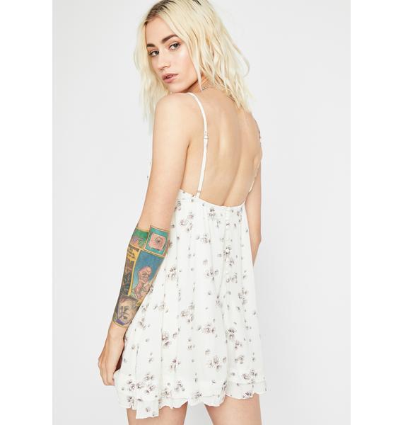 Gimme Wildflowers Mini Dress
