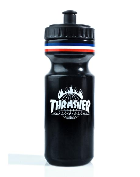 X Thrasher Tour De Stoops Water Bottle