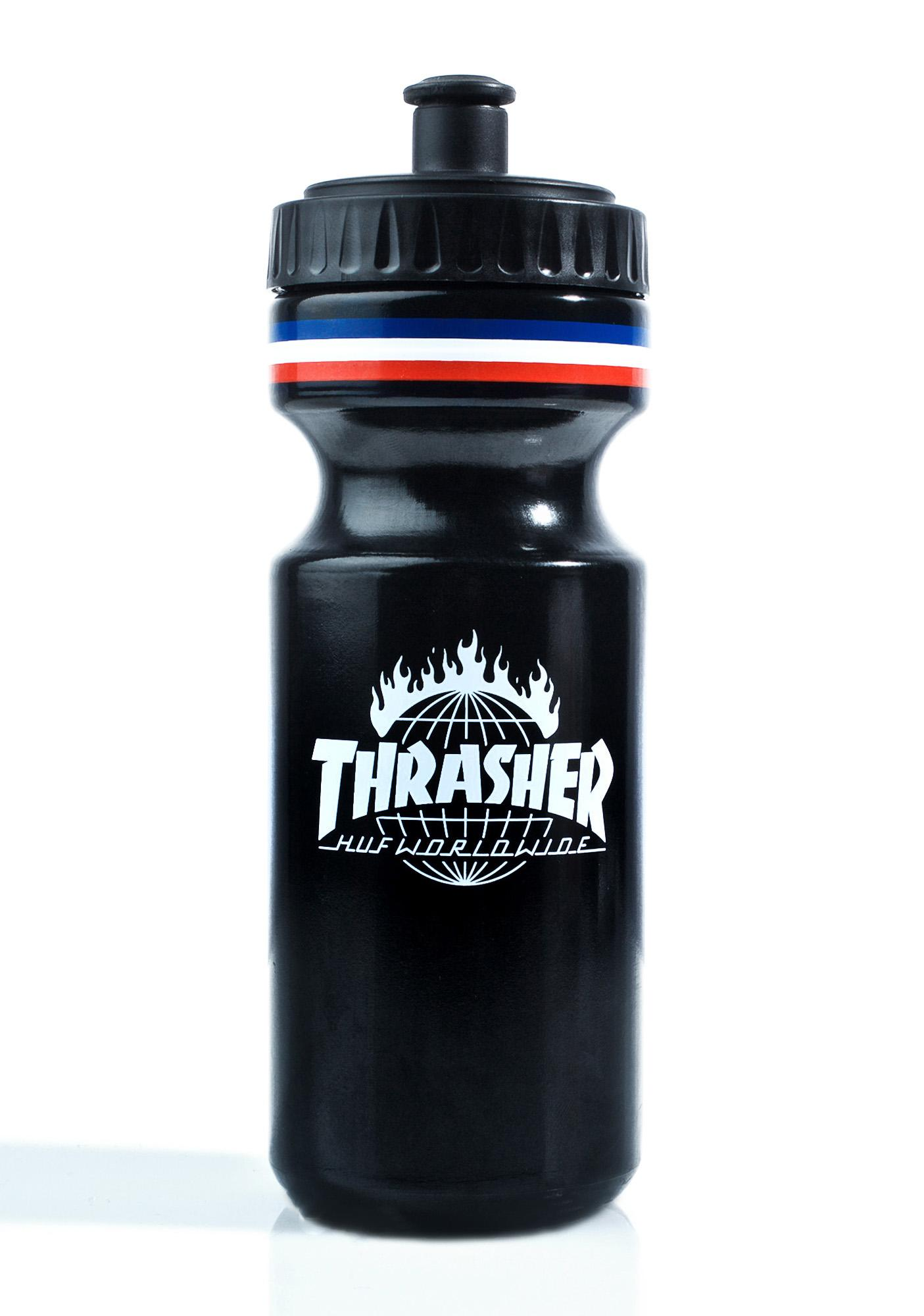 HUF X Thrasher Tour De Stoops Water Bottle