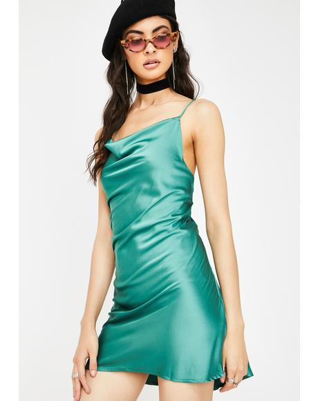 Cash High Class Sass Satin Dress