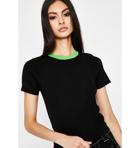 Classic Hit Ribbed Tee