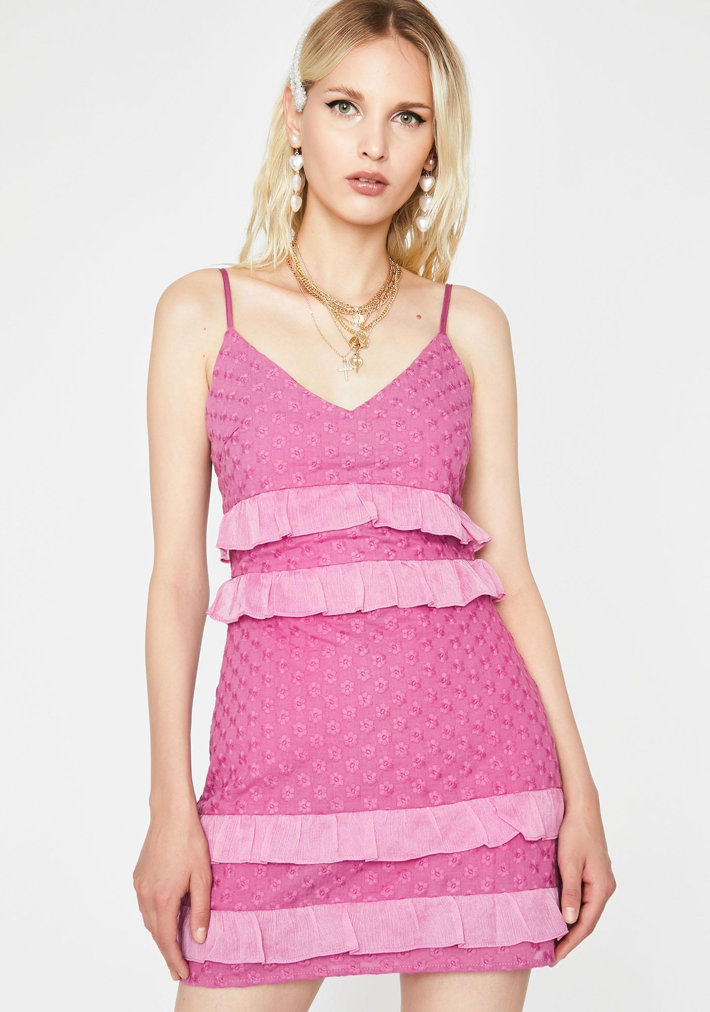 Too Cute To Care Mini Dress