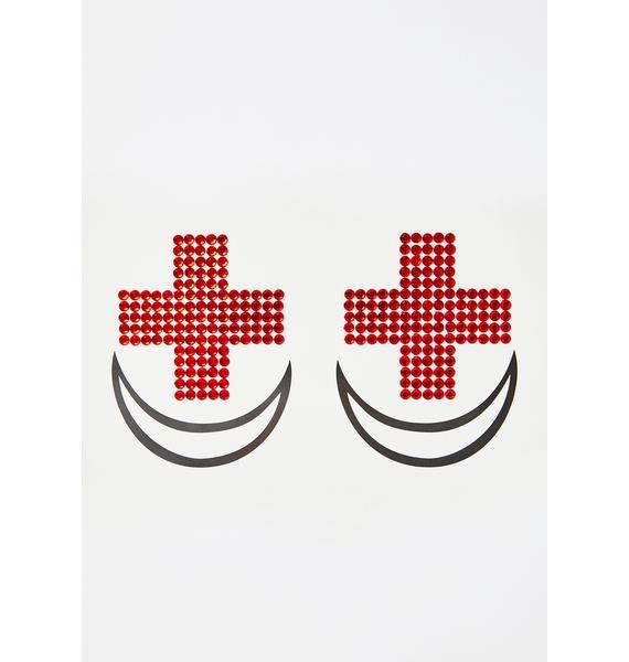Lunautics Red Cross Pasties