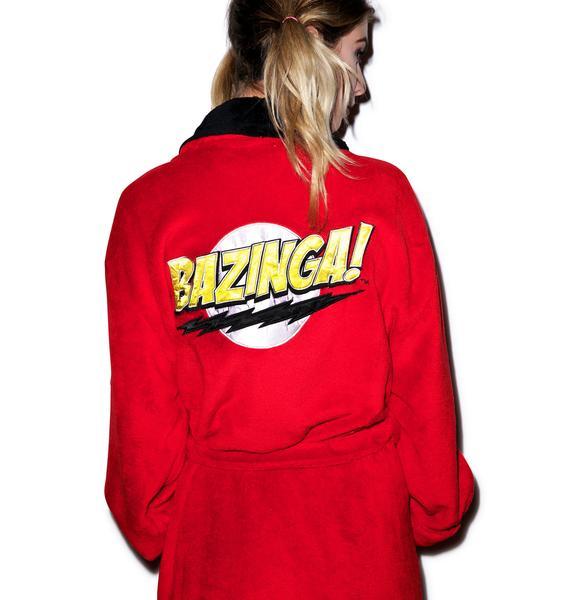 Undergirl The Big Bang Theory Bazinga Hooded Robe