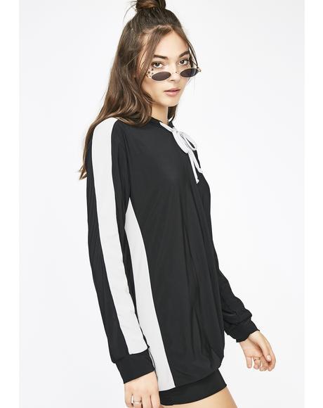 Wicked Motives Hooded Dress