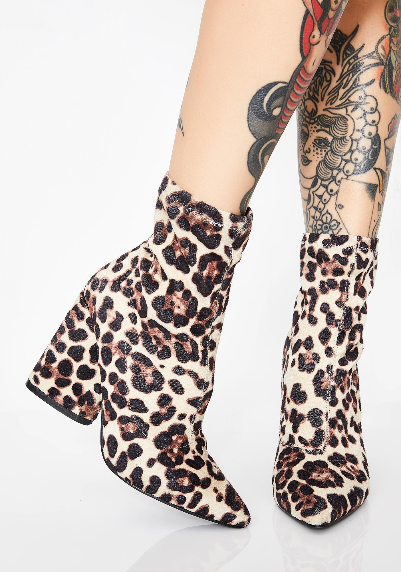 Exotic Desert Haze Ankle Boots