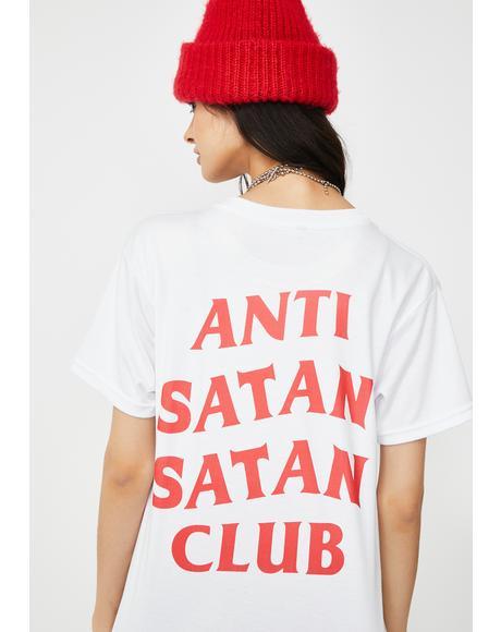 Anti Satan Satan Club Tee