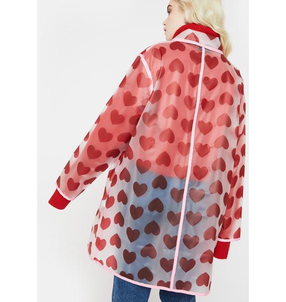 Lazy Oaf See Through Heart Jacket