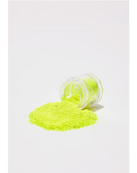 Electric Banana UV Glow Glitter