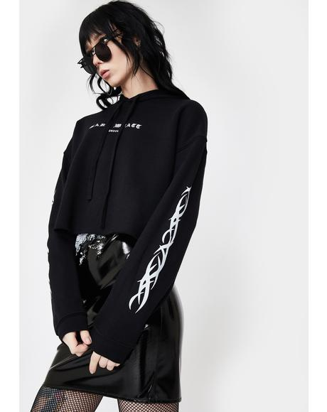MW Cropped Hoodie