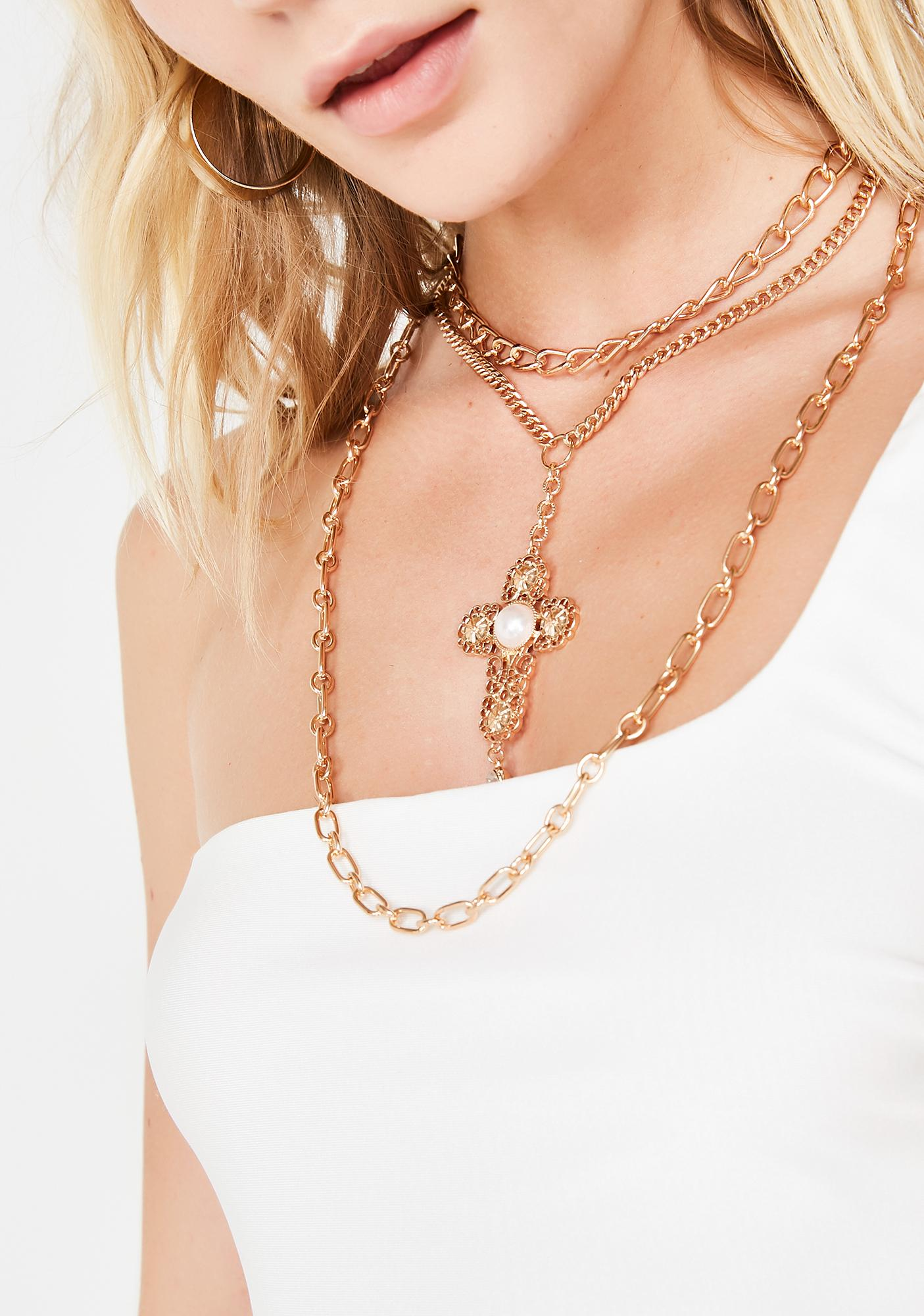 In Your Prayers Layered Necklace
