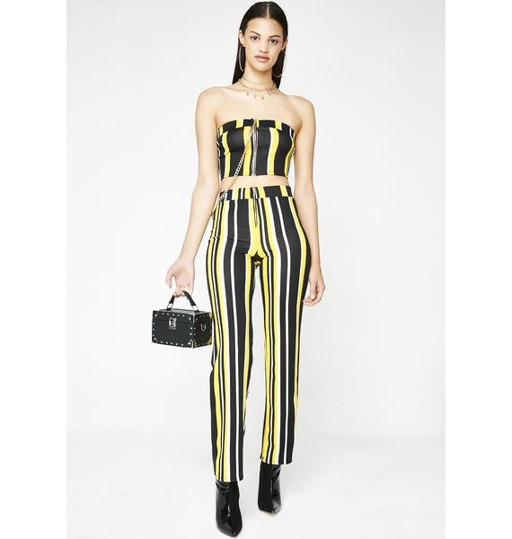 Push To Start Striped Set