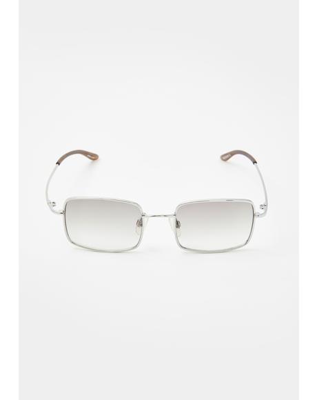 Rodeo Smoke Square Sunglasses