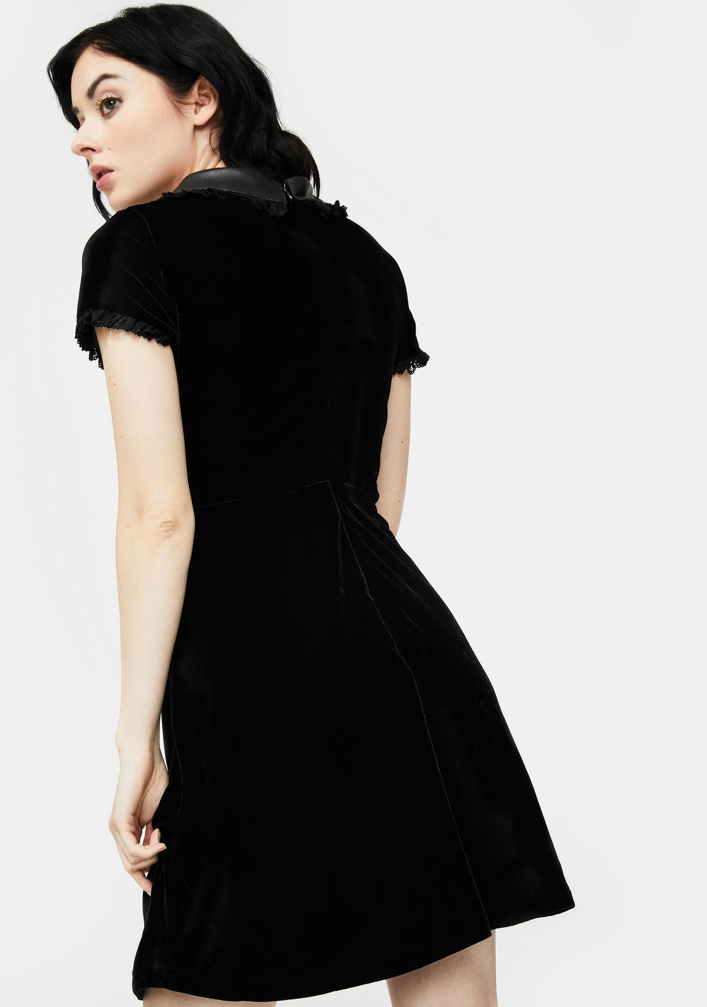 Killstar Fang Shift Dress