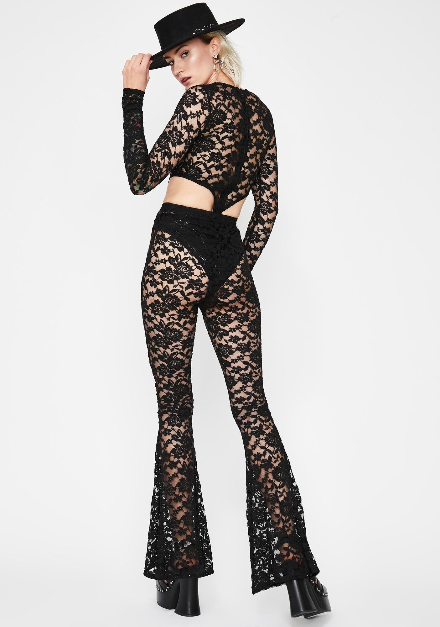 Hawt Damn Lace Jumpsuit