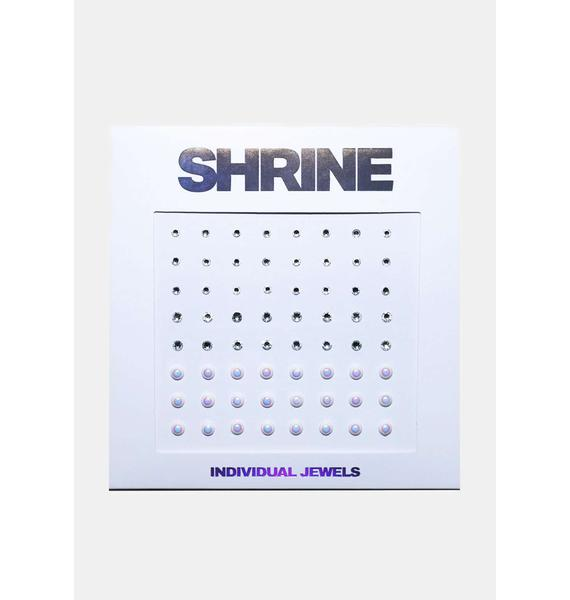 SHRINE Individual Silver Face Gems