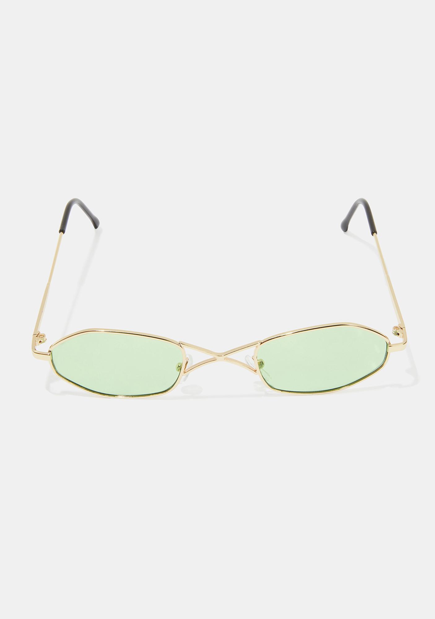 Jade So Secret Tiny Sunglasses