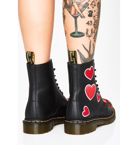 Dr. Martens 1460 Pascal Heart Boots