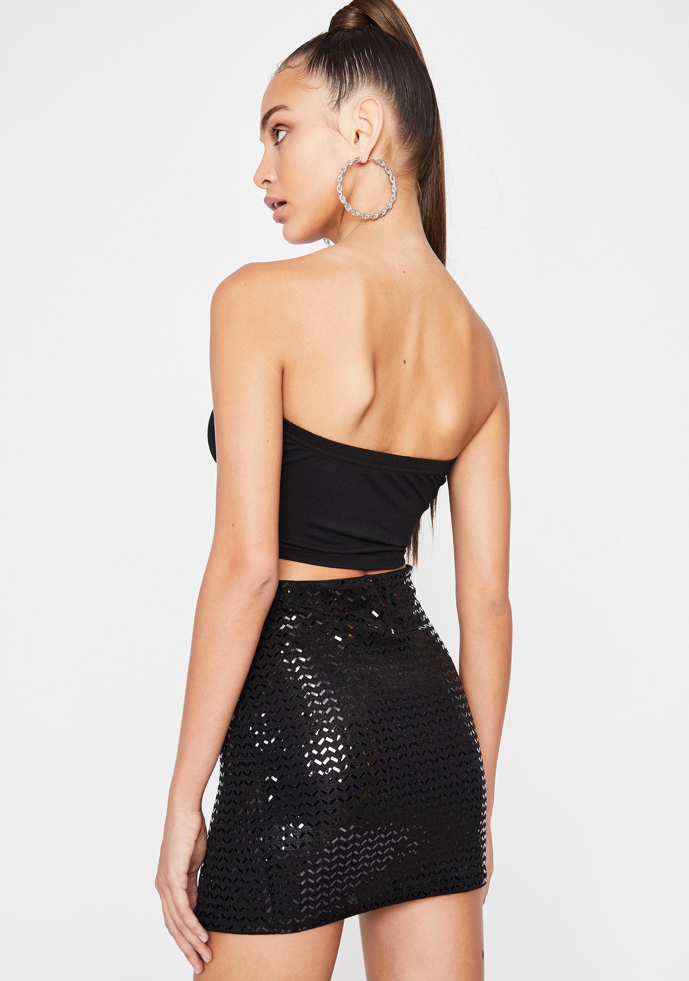 Mystic Glossy Galore Sequin Skirt
