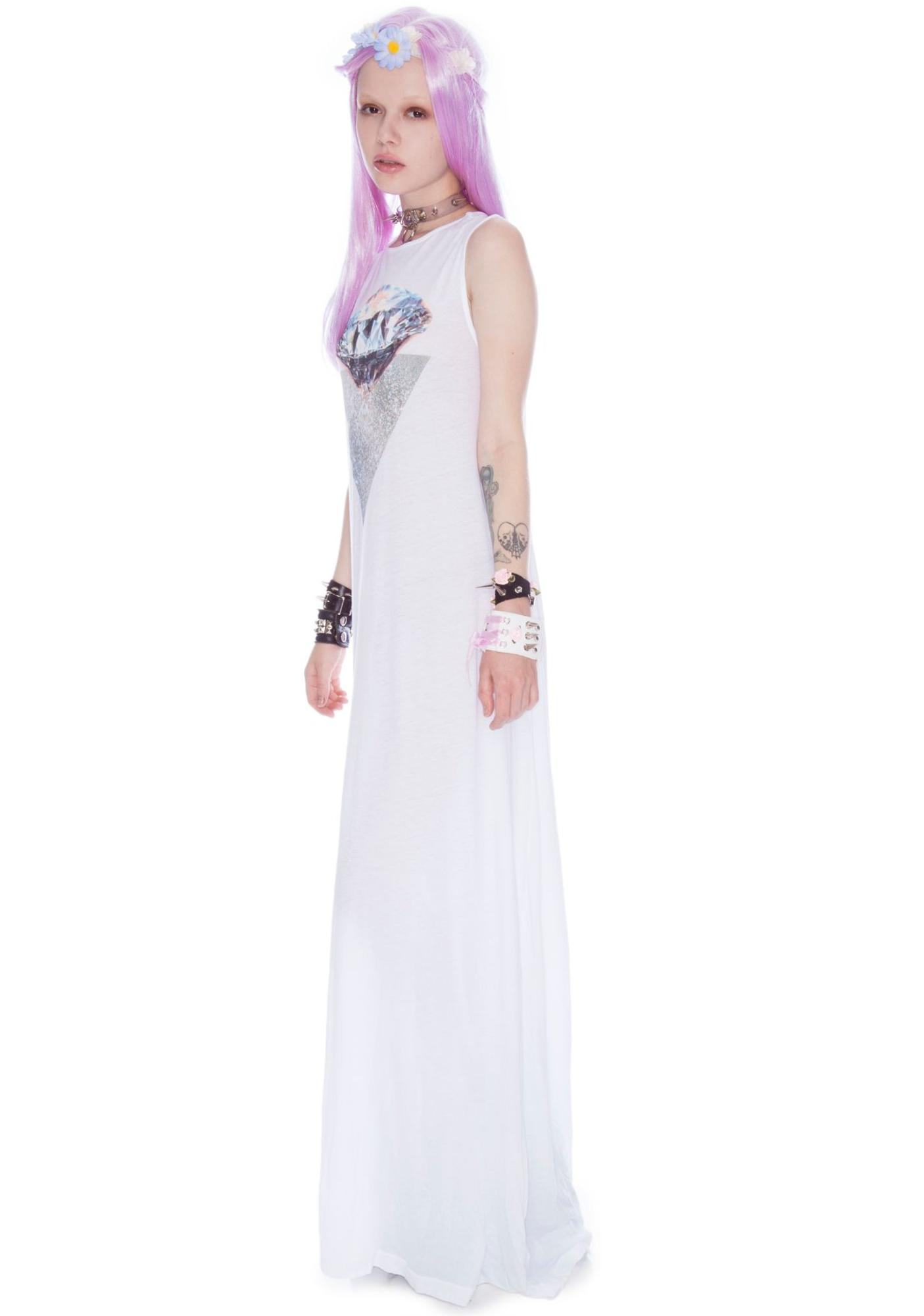Wildfox Couture Diamond Spell Antoinette Maxi Dress