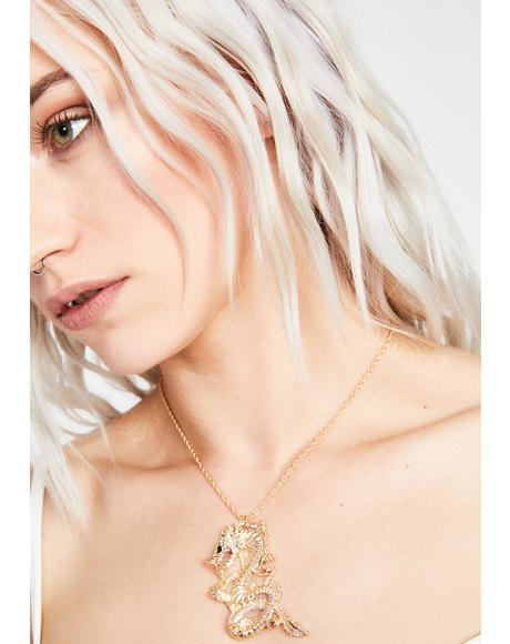 Legend Untold Dragon Necklace