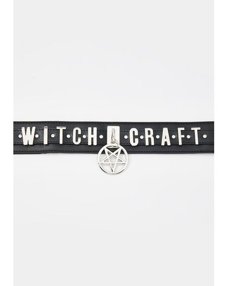 Witchcraft Pentagram Waist Belt