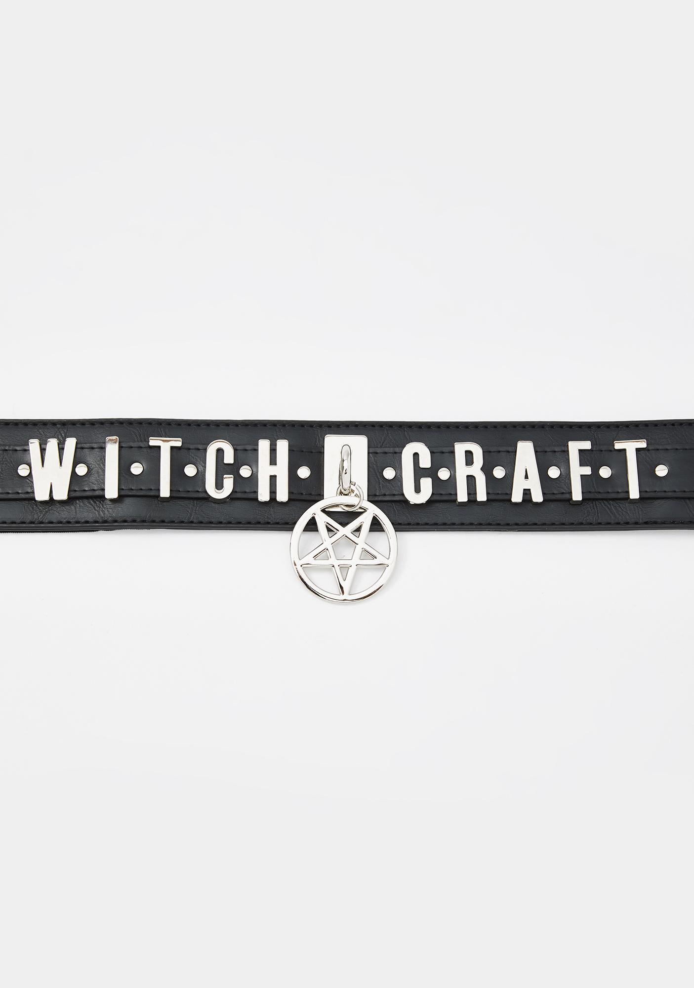 Restyle Witchcraft Pentagram Waist Belt
