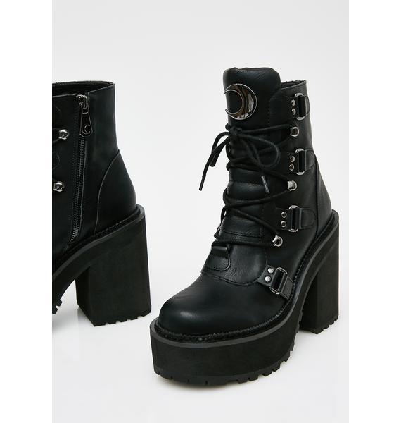 Killstar Broom Rider Boots