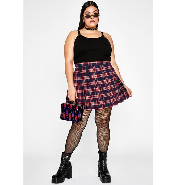 Royal So Miss Popular Pleated Skirt