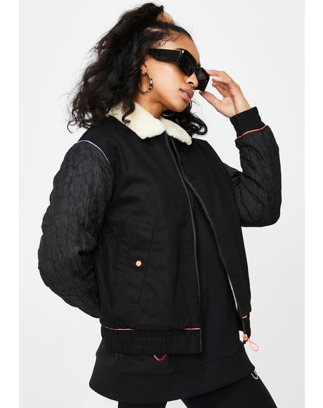 X Sophia Webster Bomber Jacket