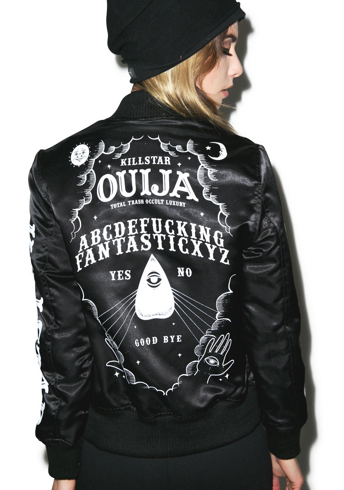 Killstar Ouija Varsity Jacket
