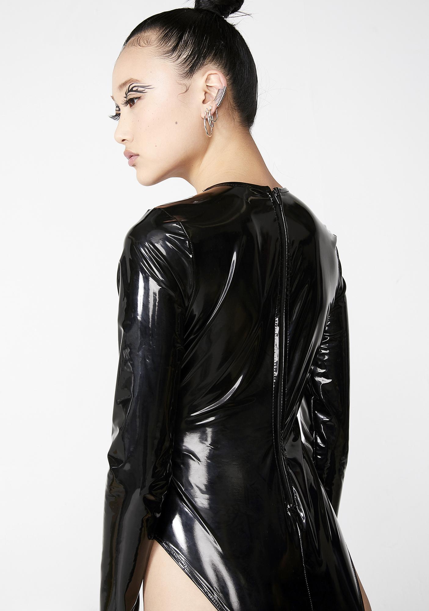 Warp Speed Vinyl Bodysuit