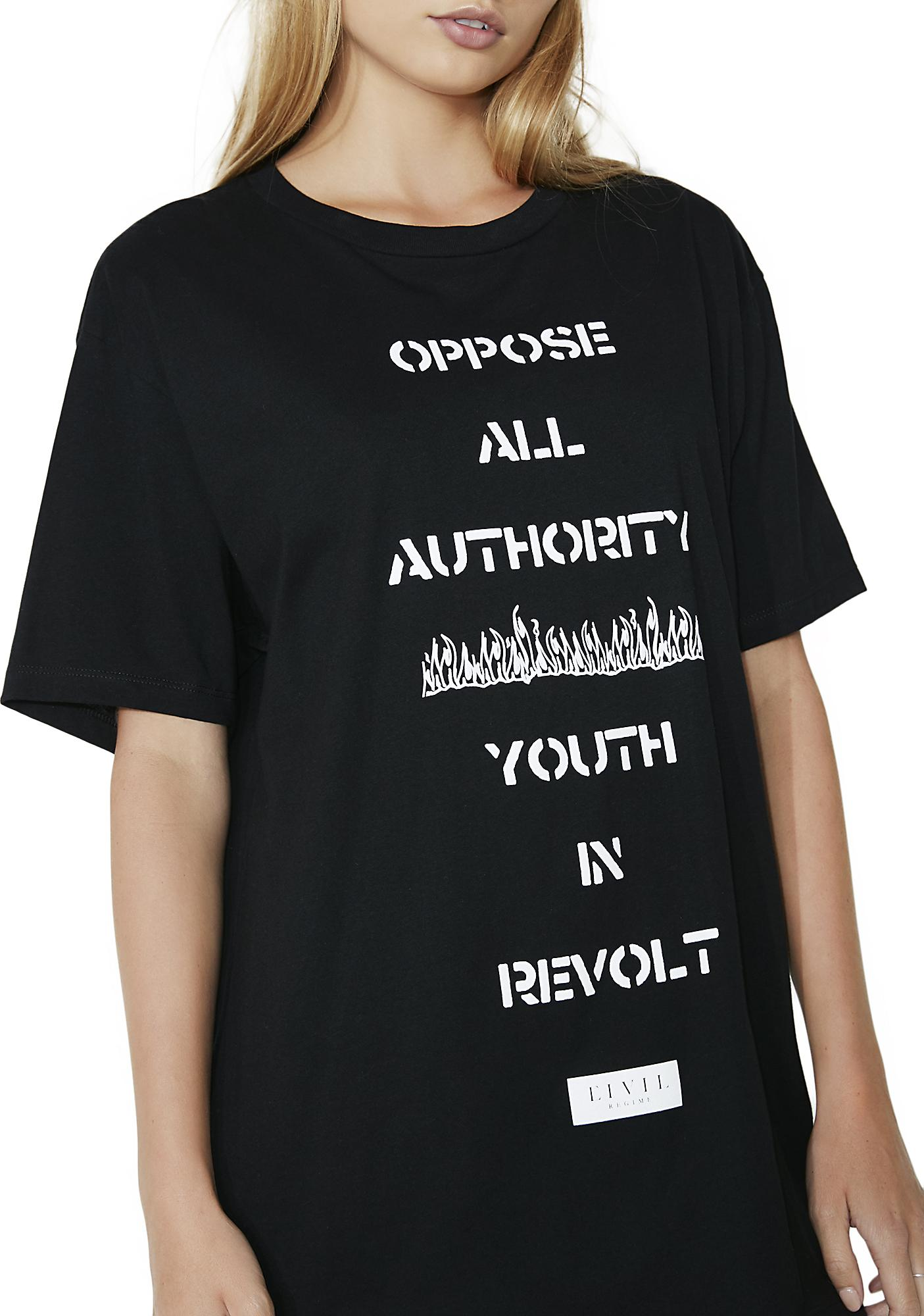Civil Clothing Revolt Tee