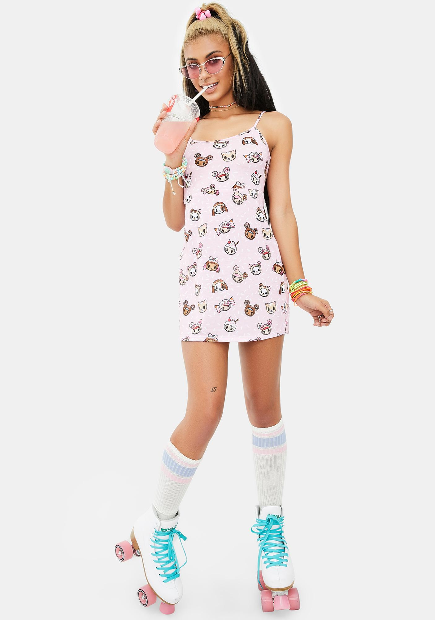 Tokidoki Sprinkled Mini Dress