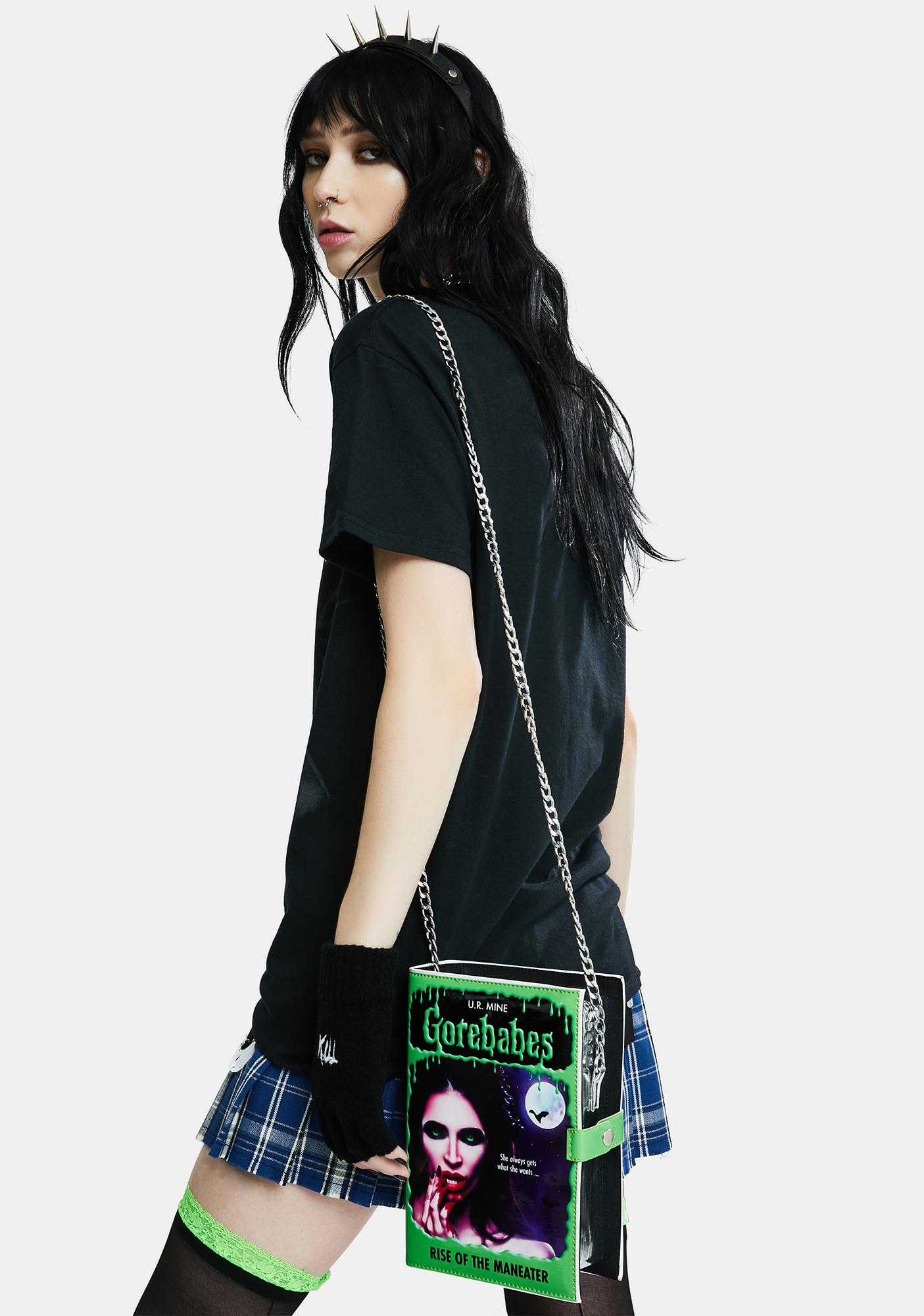 Rock Rebel The Creature With Damsel Graphic Tee
