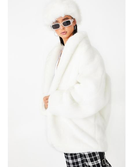 Nya Faux Fur Jacket