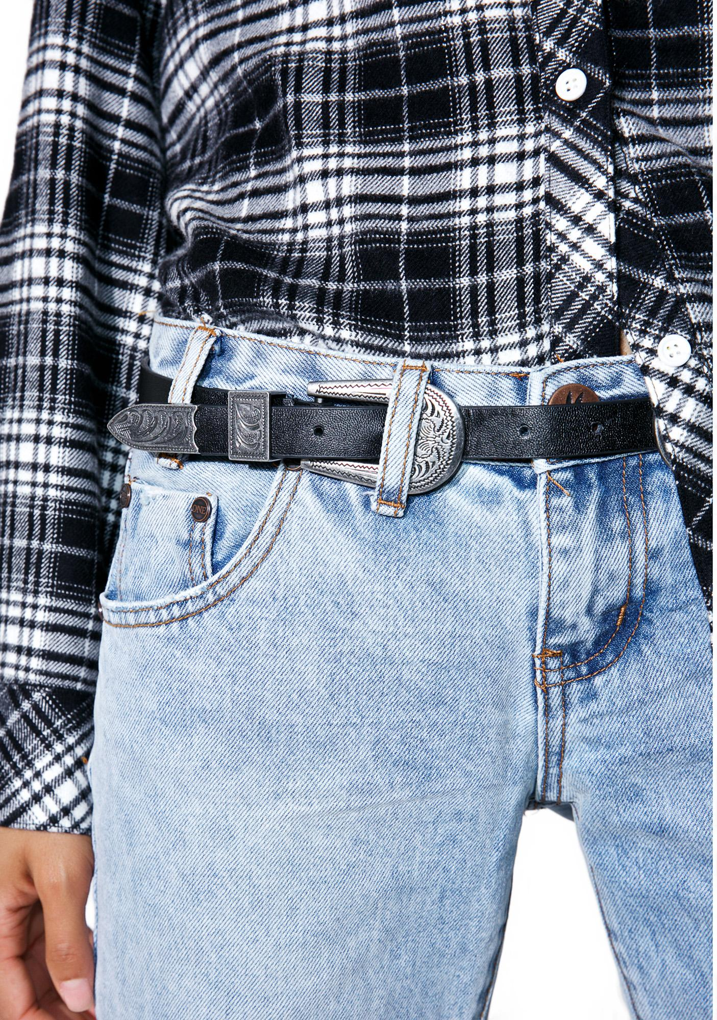 Deadeye Double Buckle Belt