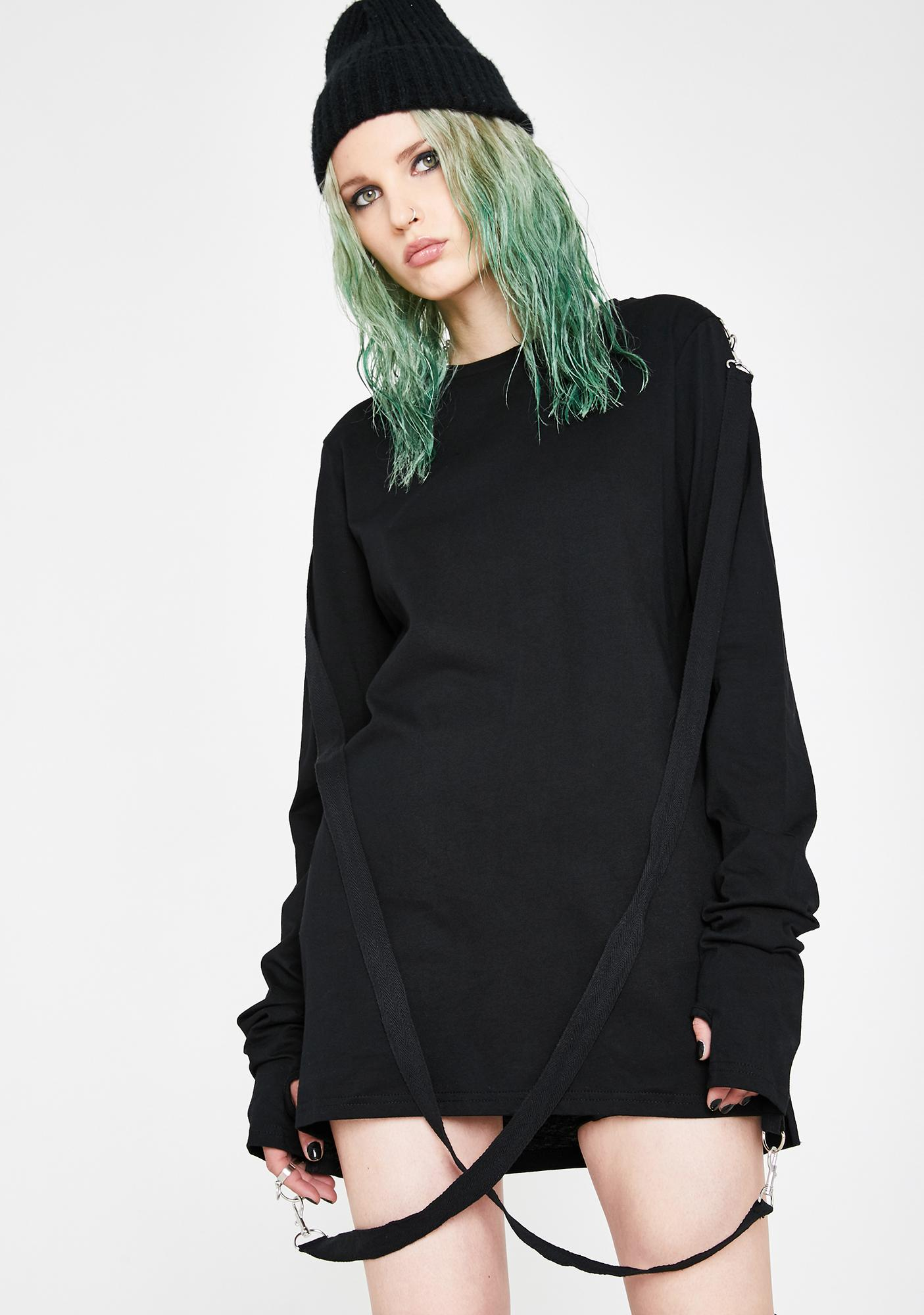 Current Mood Crash Factor Oversized Tee