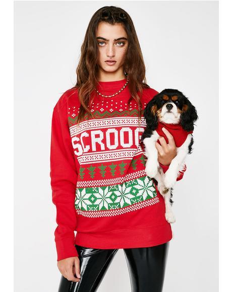 Scrooge Xmas Sweater
