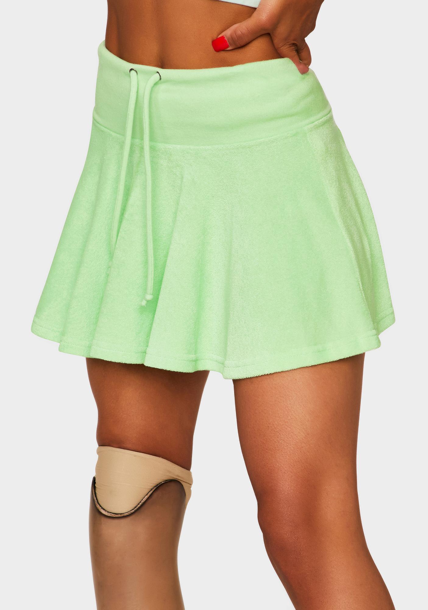 Kiwi Island Getaway Mini Skirt