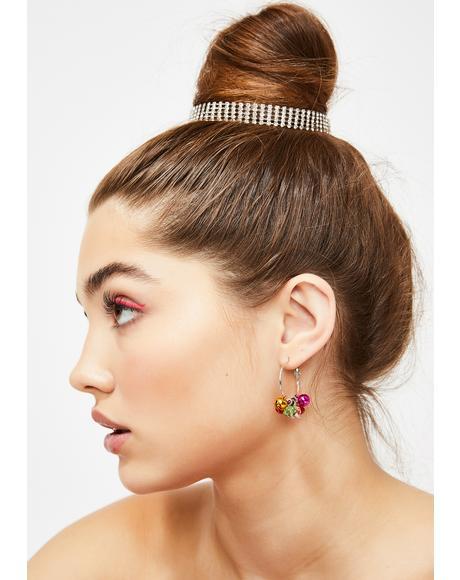 Holly Jolly Honey Jingle Bell Earrings