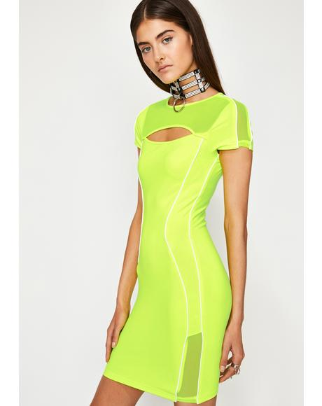 Sour Infinite Fantasy Bodycon Dress