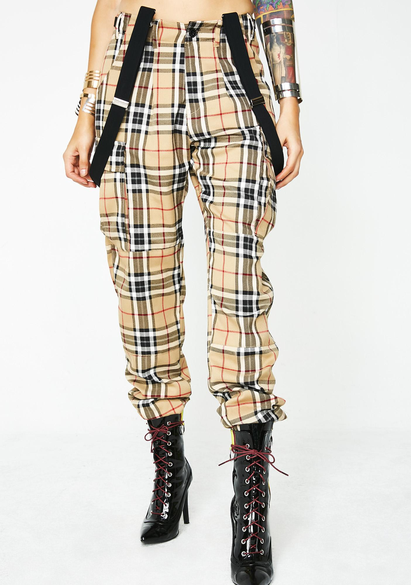 Poster Grl High Classy Cargo Pants
