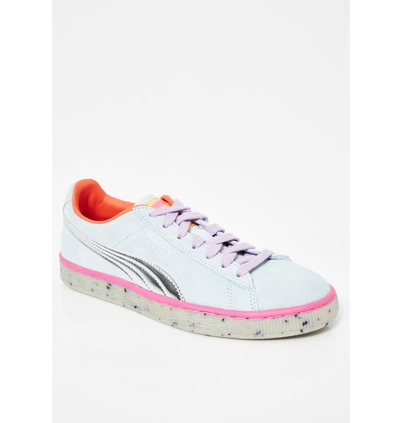 PUMA x Sophia Webster Suede Candy Princess Sneakers